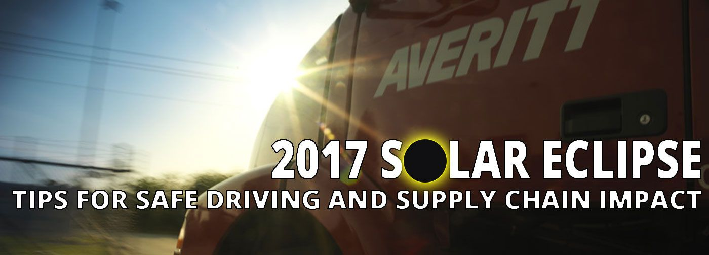 Driving Safety Tips And Supply Chain Impact From The 2017 Solar Eclipse