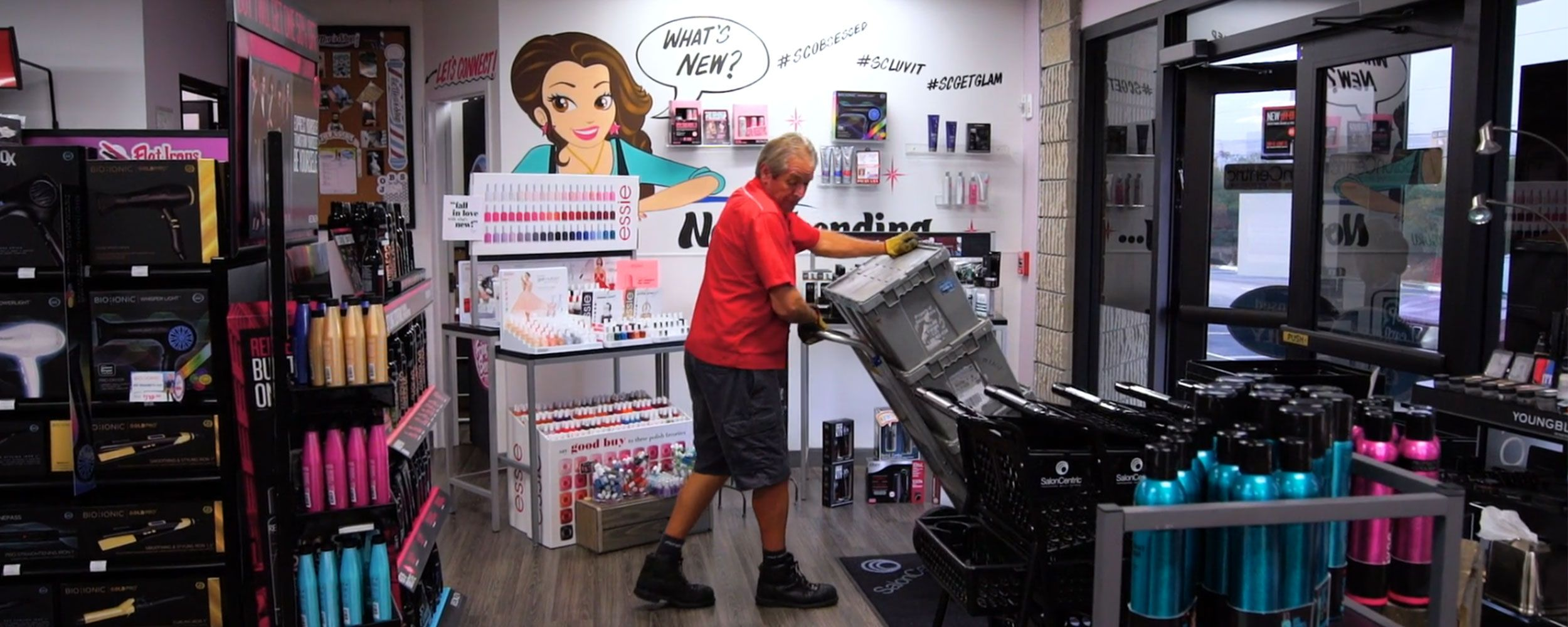 Averitt and SalonCentric Supply Chain Case Study