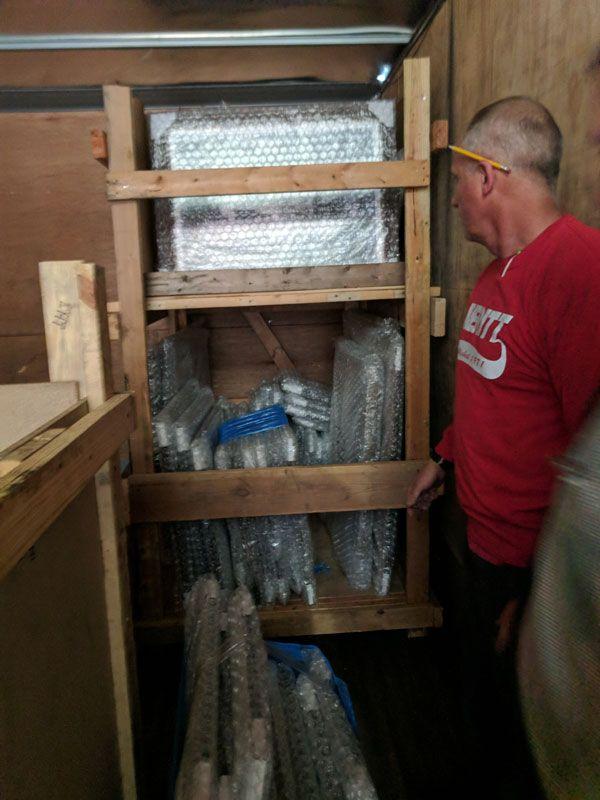 Averitt associates built custom crates for Opry's shipment to New York City