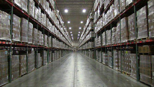 Averitt Cincinnati warehouse