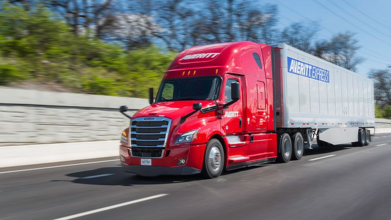 Averitt Truckload Cab And Trailer