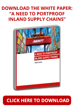 Minimize inland supply chain disruptions that start at the port